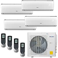 Gree Vireo MULTI30CVIR402 - 30,000 BTU Multi21+ Quad-Zone Wall Mount Mini Split Air Conditioner Heat Pump 208-230V (9-9-12-12)