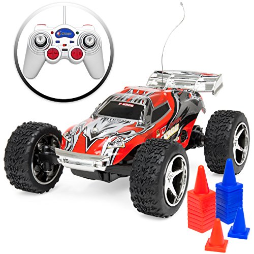 Best Choice Products 4WD 1:32 Scale High Speed 18m/h Remote Control Racing Car Small Size