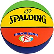 """Spalding Rookie Gear Youth Multi-Coloured Basketball Indoor/Outdoor Composite 27.5"""" 7"""