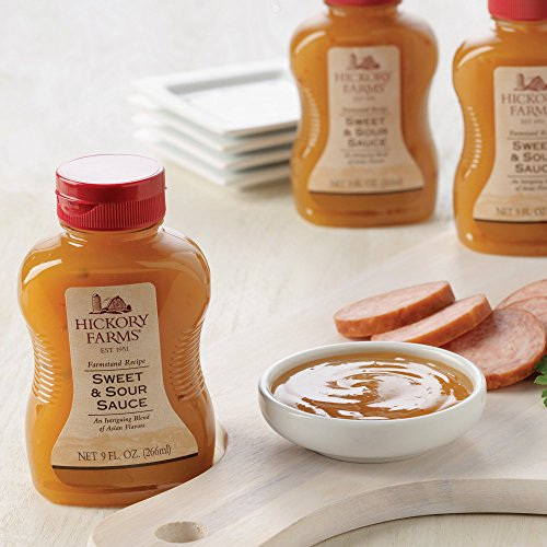 Hickory Farms Sweet & Sour Sauce (Pack of 3) by Hickory Farms