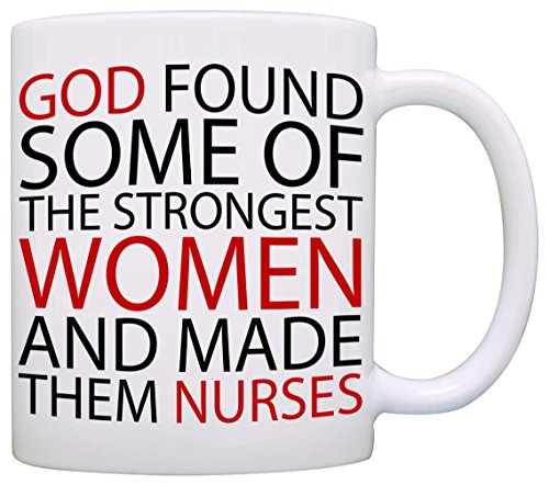 Inspirational Nurse Day Gifts Coffee Mug, Perfect Nursing Present Ideas for Nurses Weeks Student Graduation, Printed on Both Sides! (Send Gift Hamper)