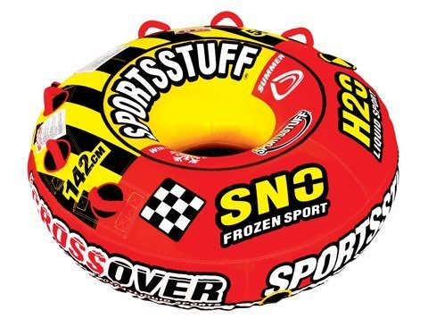 SPORTSSTUFF 30-3522 Super Crossover Snow Sled by SPORTSSTUFF SNOW SPORTS by SportsStuff