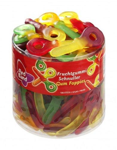 Red Band Fruchtgummi Schnuller/3097553 Inh.100