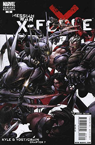 X-Force (3rd Series) #16A VF ; Marvel comic book (Cables Elixir)