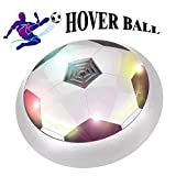 SUGOO Hover Ball, Toys for 4-10 Year Old Boys Top Indoor or Outdoor Kids Sports Games Gifts for 5-8 Year Boys Children White HB04