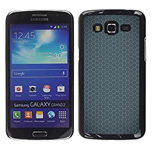 Exotic-Star ( Simple Pattern 24 ) Fundas Cover Cubre Hard Case Cover para Samsung Galaxy Grand 2 II / SM-G7102 / SM-G7105