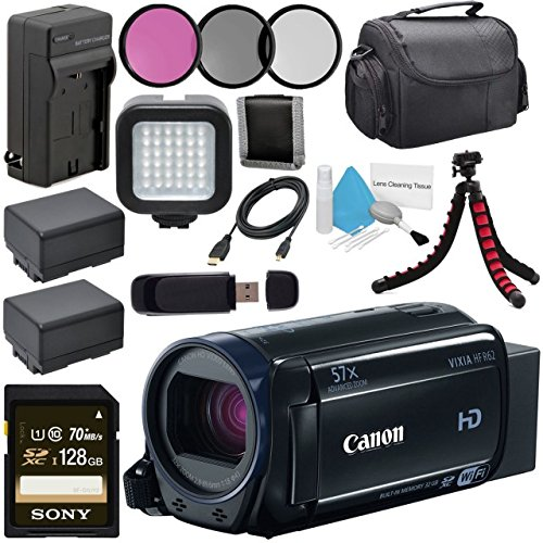 Canon 32GB VIXIA HF R62 Full HD Camcorder 0278C004 + BP-727