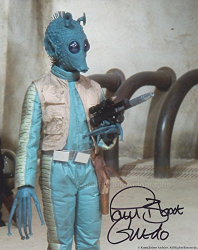 Paul Blake as Greedo (Star Wars) Autograph