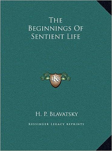 The Beginnings Of Sentient Life