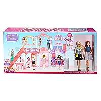 Barbie Malibu Ave Centro comercial de 2 pisos con 2 muñecas - (50+ piezas, 2 'de alto, 4' de ancho)