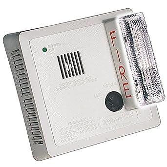 51kQHzsAHeL._SX342_ gentex 7139cs w hardwired photoelectric smoke alarm w ada compliant