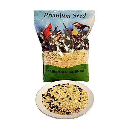 Premium No Mess Wild Bird Food - 40lbs