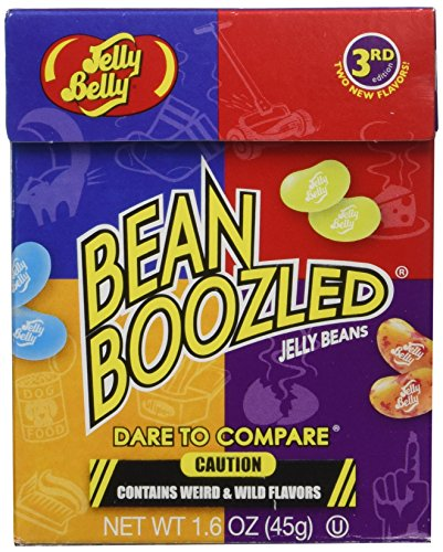 Jelly Belly BeanBoozled Jelly Beans 3rd Edition (Two New Flavors) (3-Packs)]()