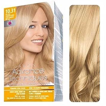 3 x Avon Advance Techniques Hair Colour / dye 10.31 Very Light ...