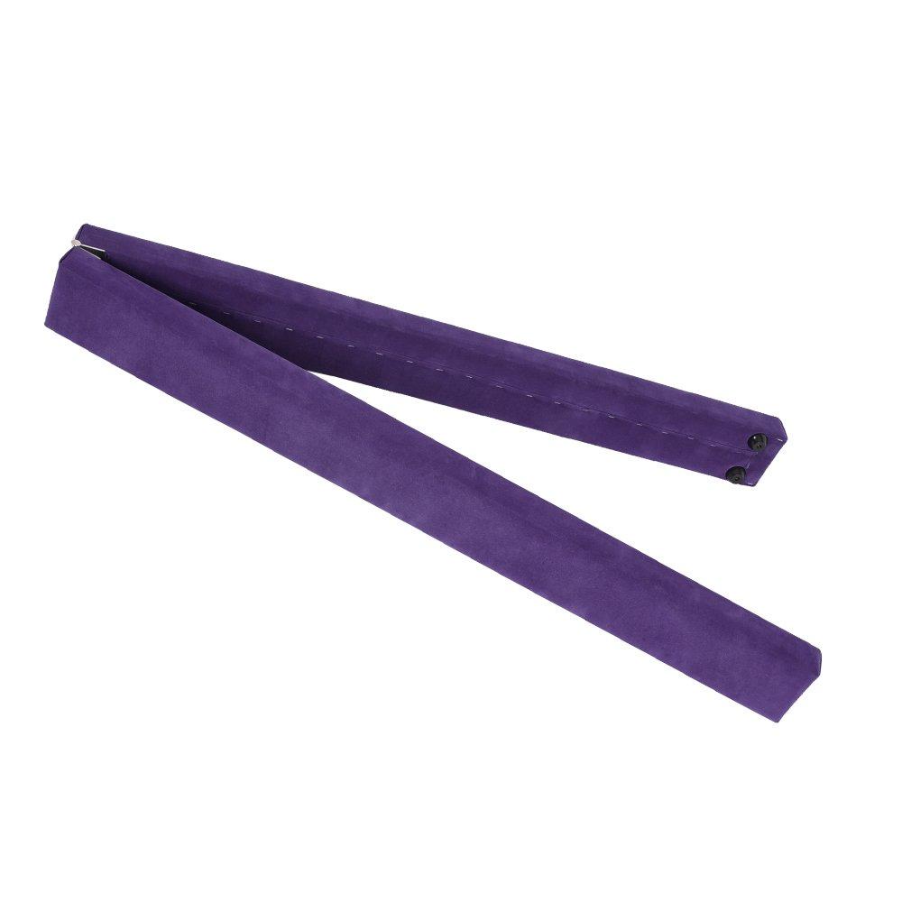 Cherryou - Poutre de gymnastique pliable pour entraînement à la maison, violet