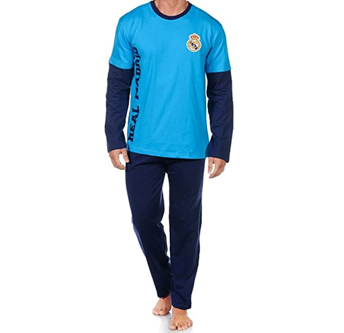 PIJAMA T12 REAL MADRID AZUL INV
