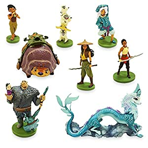 Disney Raya and The Last Dragon Deluxe Figure Play Set