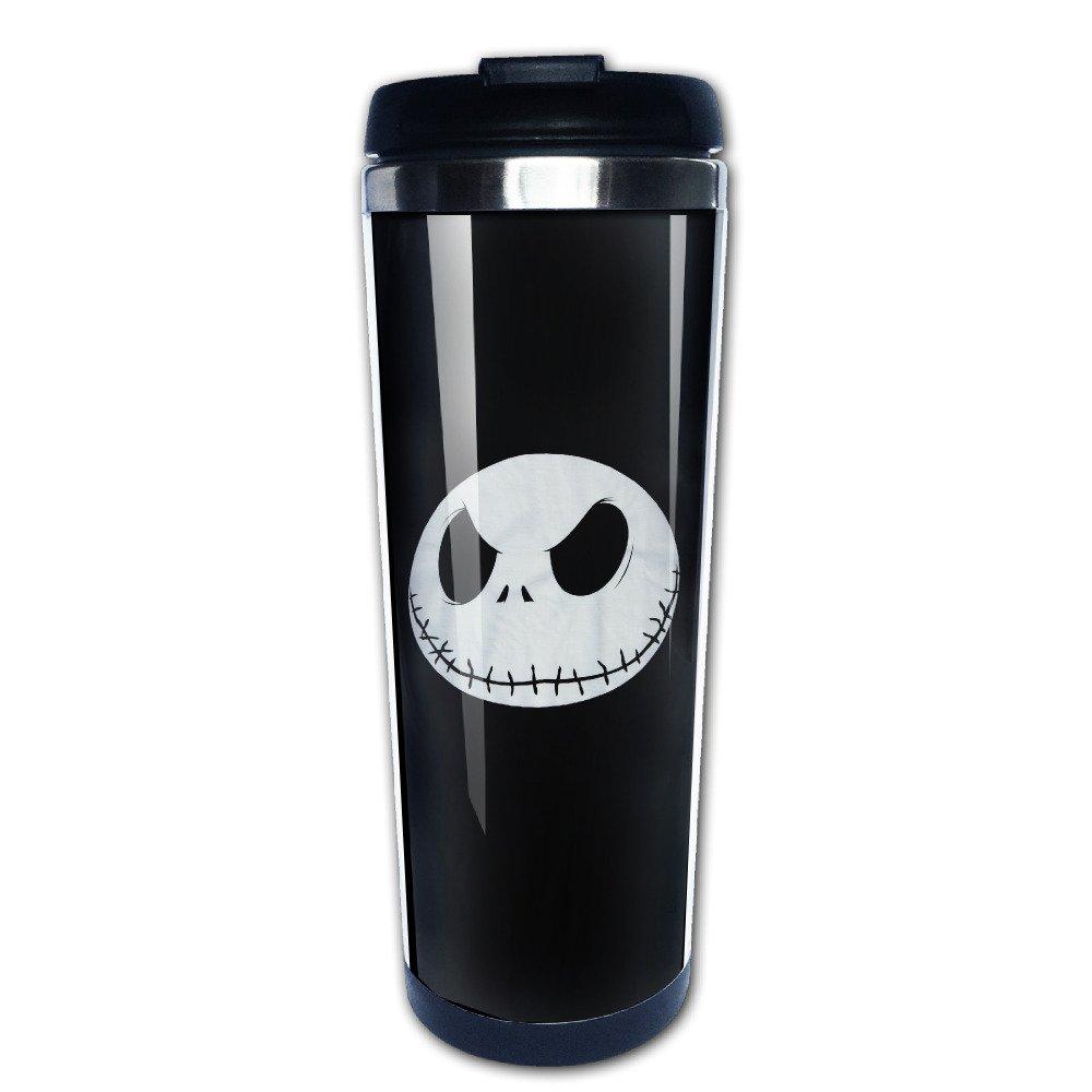 Amazon.com: Head Nightmare Before Christmas Travel Coffee Mugs Tea ...