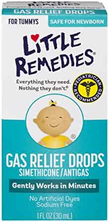 Little Remedies Gas Relief Drops | Berry Flavor | Safe For Newborns | 1 FL OZ