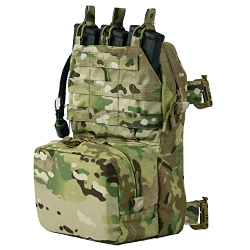 (Tactical Assault Gear TAG Mini Combat Sustainment Pack Day Pack with 2L Source Hydration Bladder - OCP (Multicam))
