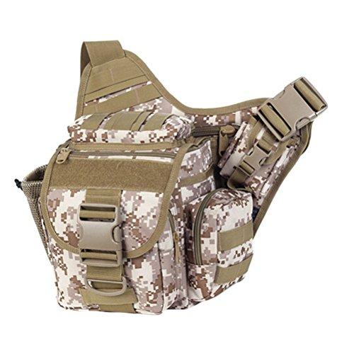 MatchLife - Bolso al hombro para hombre Camouflage2 Camouflage3