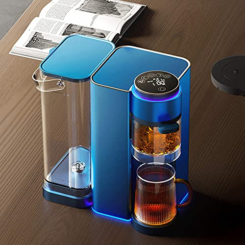 Fully Automatic Tea Maker Machine With Timer Temperature Display,Water Dispenser/Tea Making Mode,2.1L Large Water Tank…
