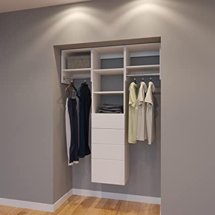 Charmant Modular Closets 4.5 FT Closet Organizer System   54 Inch   Style A