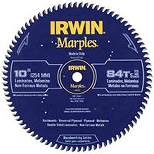 Irwin Tools  1807381 Marples Laser Cut 10-Inch 84-Tooth Triple Chip Grind Circular...