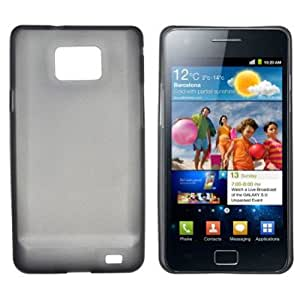 Case Slim TPU GEL for Samsung I9100 Noir