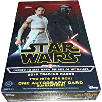 2019 Topps Star Wars Trading Cards Journey to Star Wars The Rise of Skywalker Factory Sealed HOBBY box 24 of Packs