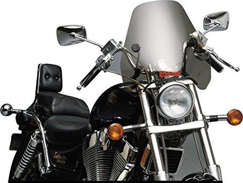 Motorcycle Windshield by Slipstreamer for Harley Davidson V-Rod VRSC/B/R/AW/DX 2002-2016 Tint/Black Hardware 15