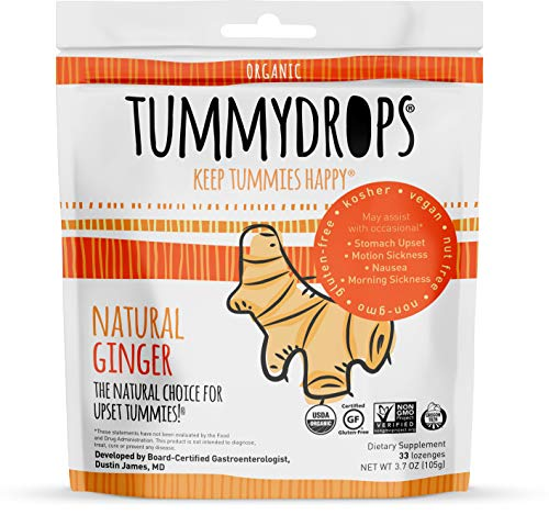 Natural Ginger Tummydrops Resealable