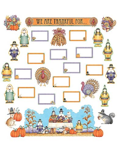 Teacher Created Resources DM We are Thankful Bulletin Board (4105) -