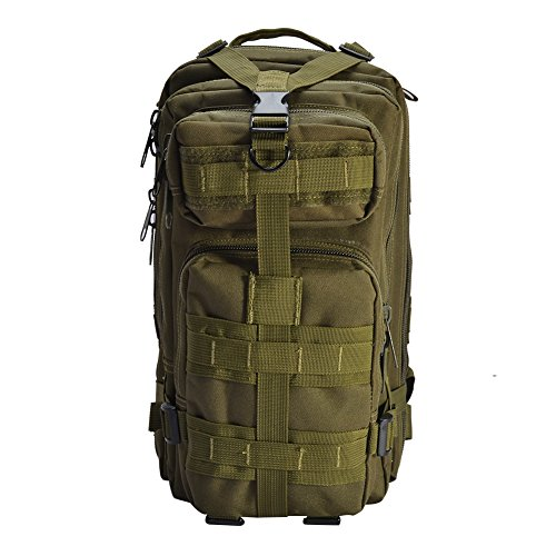 Amazon Lightning Deal 83% claimed: YAKEDA® Outdoor travel mountaineering bags Camping backpack Cycling package Hiking march package Tactical Army fans pack--47