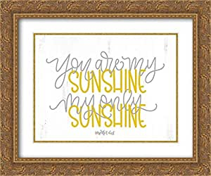 Amazon.com: Imperfect Dust 34x28 Gold Ornate Frame and