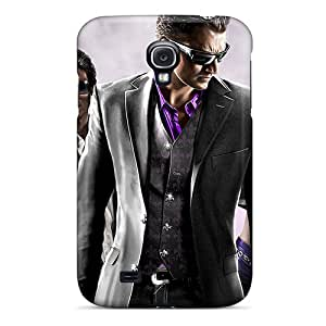 For Galaxy S4 Tpu Phone Cases Covers(saints Row 3 Game)