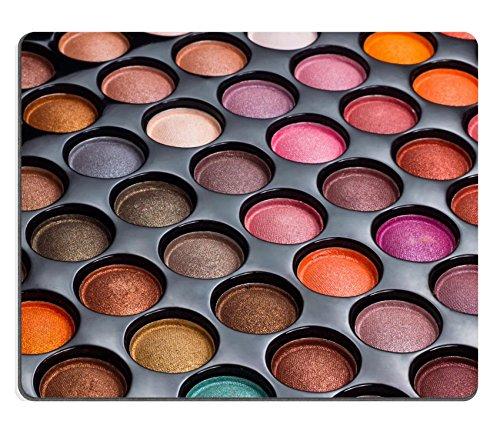 Luxlady Gaming Mousepad IMAGE ID: 17529965 Colorful eye shadows palette Makeup (Colorful Eyes)