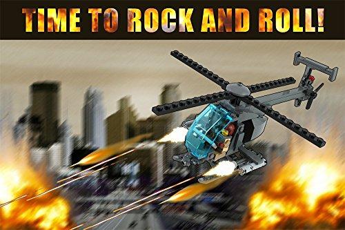 Brickmania AH-6 Little Bird Gunship - Custom LEGO® Element Building Kit