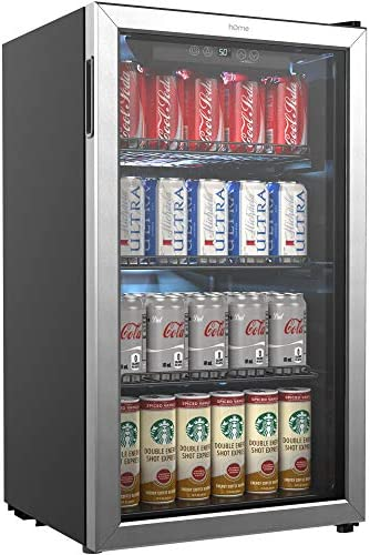 hOmeLabs Beverage Refrigerator and Coole