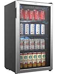 hOmeLabs Beverage Refrigerator and Coole...