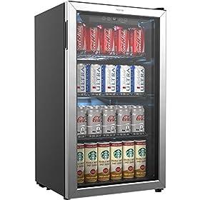 hOmeLabs Beverage Refrigerator and Cooler – ...