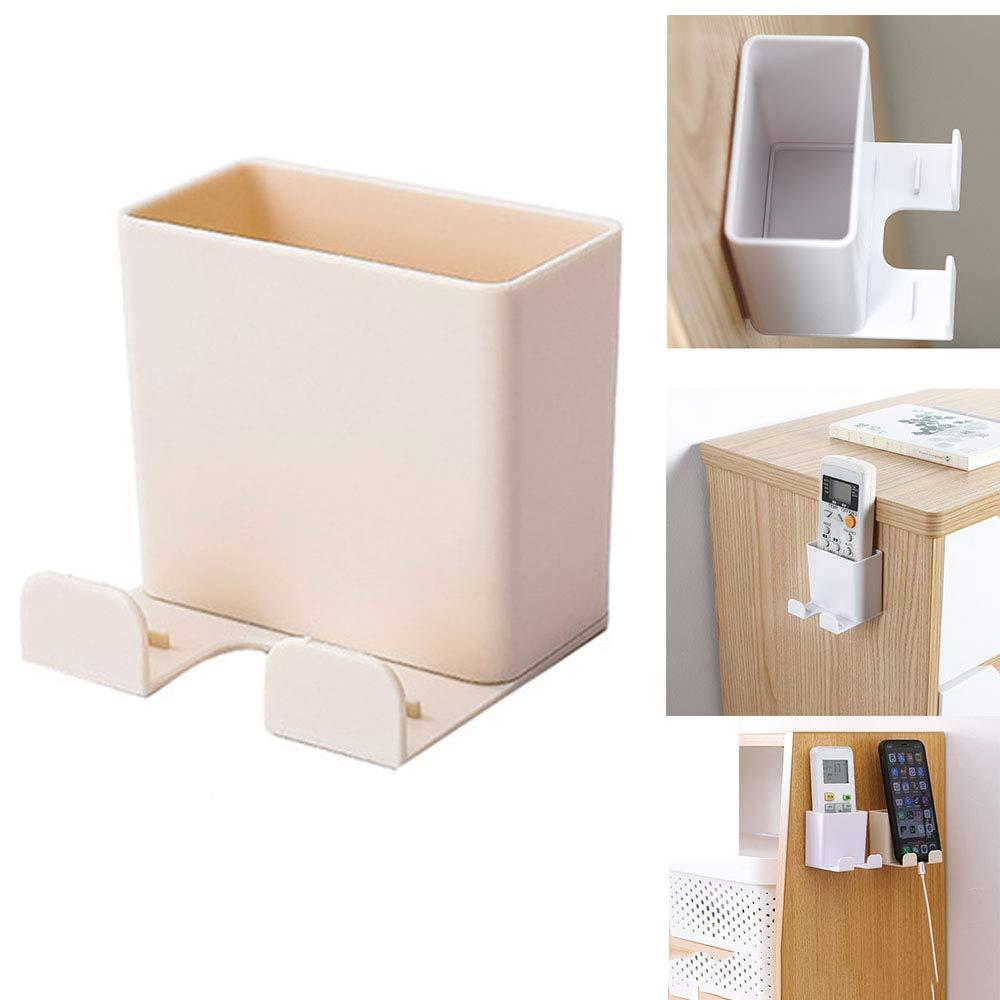 Babettew Stand Support de t/él/éphone Portable Prise de t/él/éphone Collant t/él/écommande Organisateur climatiseur bo/îte de Rangement adh/ésif Cintre