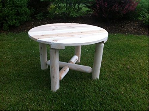 Cedar Set Coffee Table - Bestar White Cedar Round Coffee Table Natural