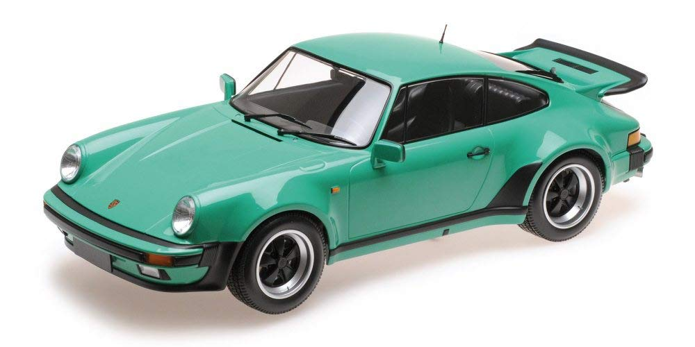Amazon Com Minichamps Porsche 911 Turbo Green 125066118 1 12