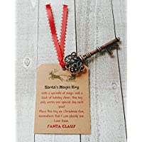 Santa's Magic Key - Christmas Keepsake - Kids Christmas Eve gift - Key for Santa Claus