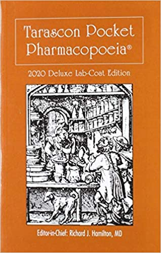 TARASCON POCKET PHARMACOPEIA 2 017 DELUXE EDITION