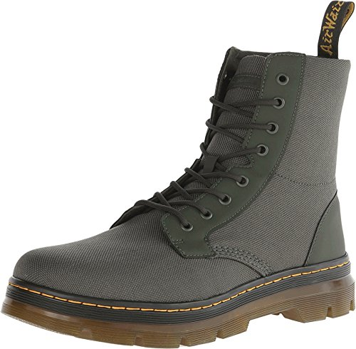 Dr. Martens Unisex Combs Fold Down Boot Olive Extra Tough Ny