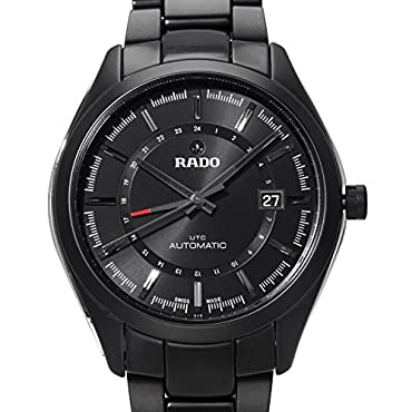 Rado Hyperchrome Automatic Black Dial Black Ceramic Men's Watch (R32167152)