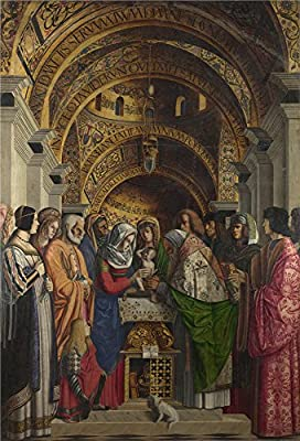 Oil Painting 'Marco Marziale The Circumcision', 16 x 24 inch / 41 x 60 cm , on High Definition HD canvas prints is for Gifts And Hallway, Kitchen And Powder Room Decoration, wall decor