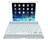 ipad 1 cover with keyboard - ZAGG Cover with Backlit Bluetooth Keyboard for Apple iPad mini 1 / mini 2 - White
